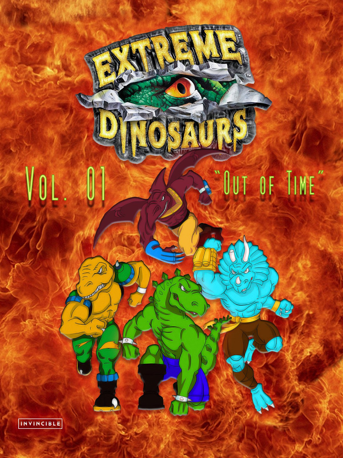 Extreme Dinosaurs Vol. 01Out of Time on Amazon Prime Video UK