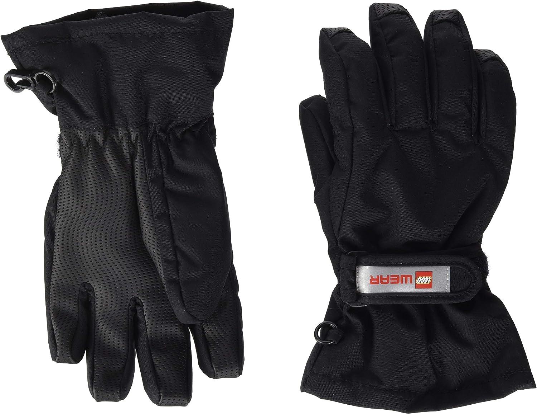 LEGO Wear Kids /& Baby Aiden Fleece-Lined Softshell Water Resistant Touchscreen Winter Gloves