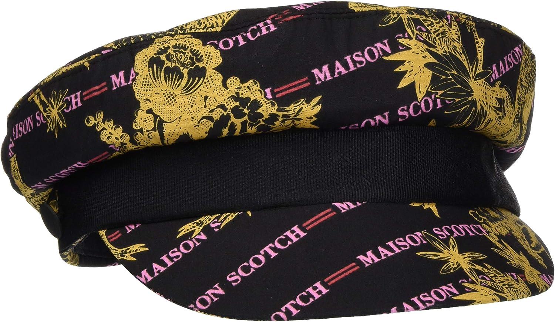 Taglia Produttore: OS Multicolore Scotch /& Soda Maison Printed Blogger cap Berretto da Baseball Unica Combo A 17 Donna