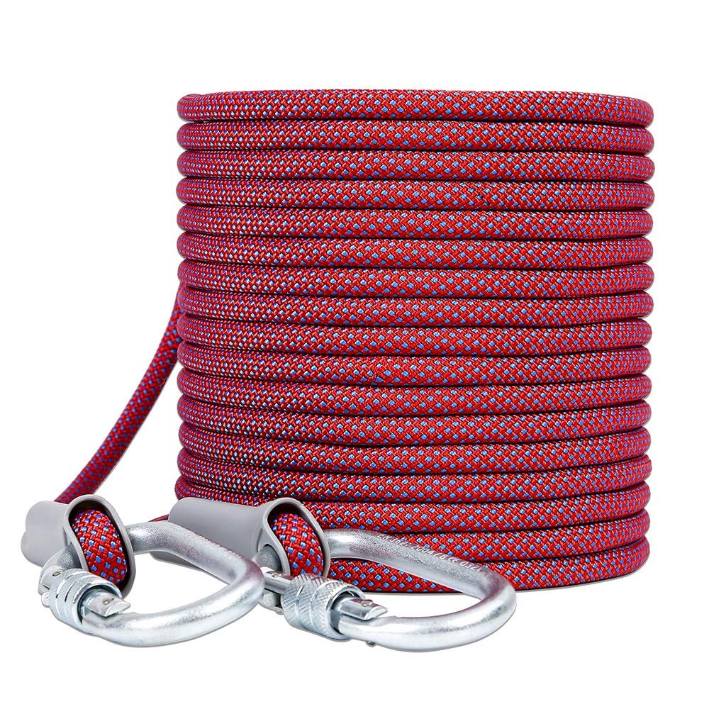 TY BEI YI GAO Aerial Work Rope Wear-Resistant Air Conditioning Installation Safety Rope High-Rise Exterior Wall Safety Outdoor Rope Rescue Rope, 3 Styles, 6 Sizes Rope (Color : 12mm, Size : 50M)