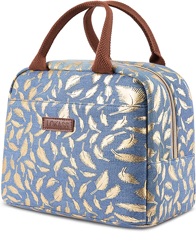Lunch Bag -  Insulated Cooler Bag Women Tote Bag