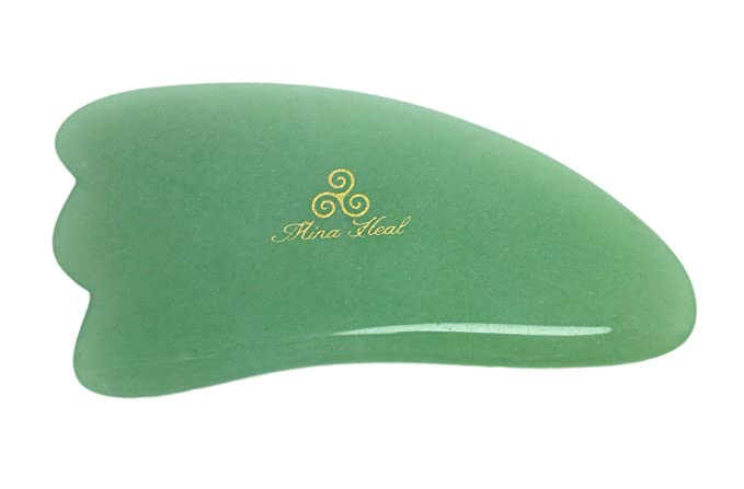 Jade Massage Tool Made of Natural Stone with 3-corners, for Facial Lifting, Anti-aging, Anti-wrinkle Massage & Facial Gua Sha: Amazon.es: Salud y cuidado ...