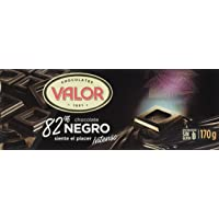Chocolates Valor Chocolate 82% Cacao - 170 gr
