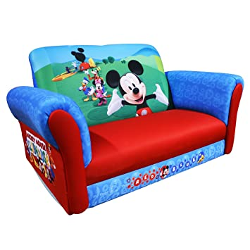 Captivating Disney Rocking Sofa, Mickey Mouse Club House