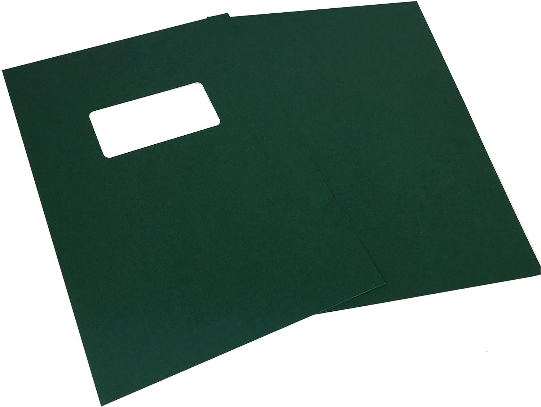 GBC Portadas De Encuadernación (A4, 250 g/m², de encuadernación – verde – Pack de 25: Amazon.es: Oficina y papelería