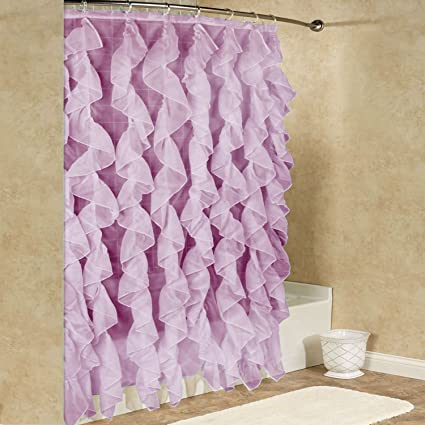 Amazon Sweet Home Collection Fabric Shower Curtain Durable With