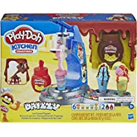 Play-Doh - Kitchen Creations - Drizzy Ice Cream Playset - Inc Drizzle compound & 6 tubs of Non toxic PlayDoh Dough…