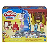 Play-Doh Kitchen Creations Drizzy Ice Cream Playset Featuring Drizzle Compound &...