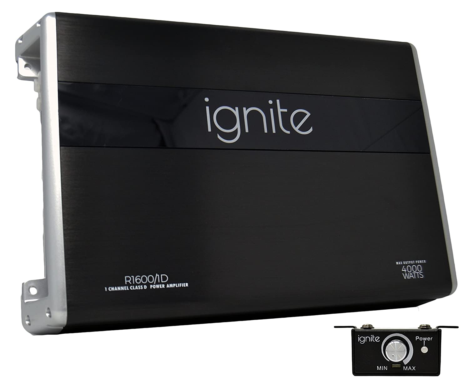 Amazon.com: Ignite Audio Mono Block Class D Car Amplifier 4000 Watts Peak  Power: Car Electronics