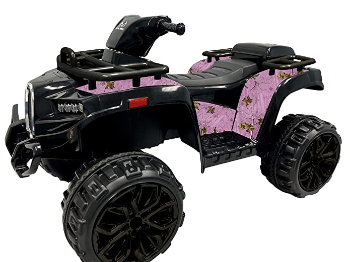 Best Ride On Cars Realtree Sporty ATV 12V- Pink 12V Realtree Sporty All Terrain Vehicle Car, Pink