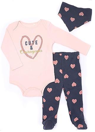 de67b5714c87 Amazon.com  Mini Heroes Baby Girls  Bodysuit