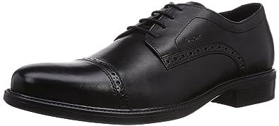 Geox U Carnaby B, Chaussures de ville homme - Gris (C1006), 42 EU