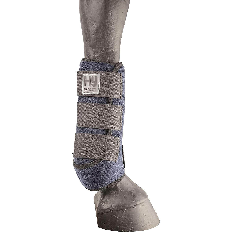 Navy Medium Navy Medium HyIMPACT Sport Support Boots (One Pair) (M) (Navy)