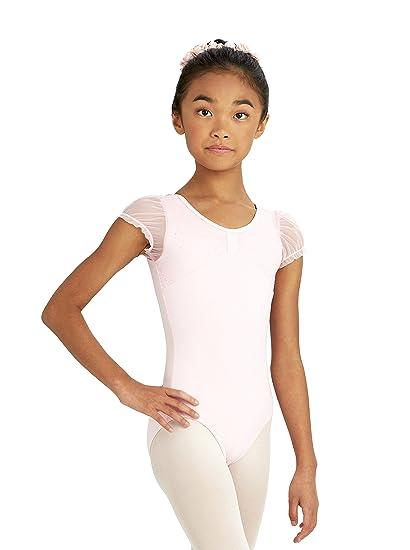 2610b6998 Amazon.com  Capezio Girl s Comfort Cap Sleeve Leotard I