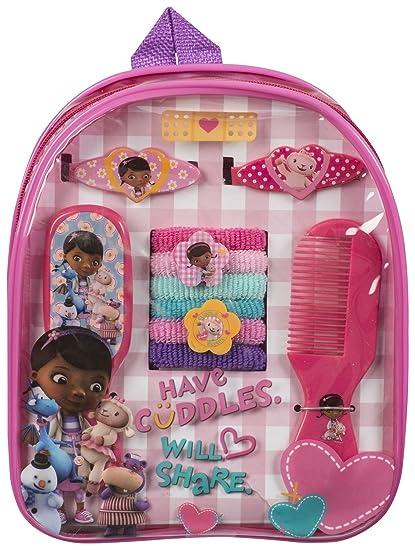 fdd3b145487 Amazon.com  Doc Mcstuffins Girls Disney Hair Accessory Backpack  Sports    Outdoors