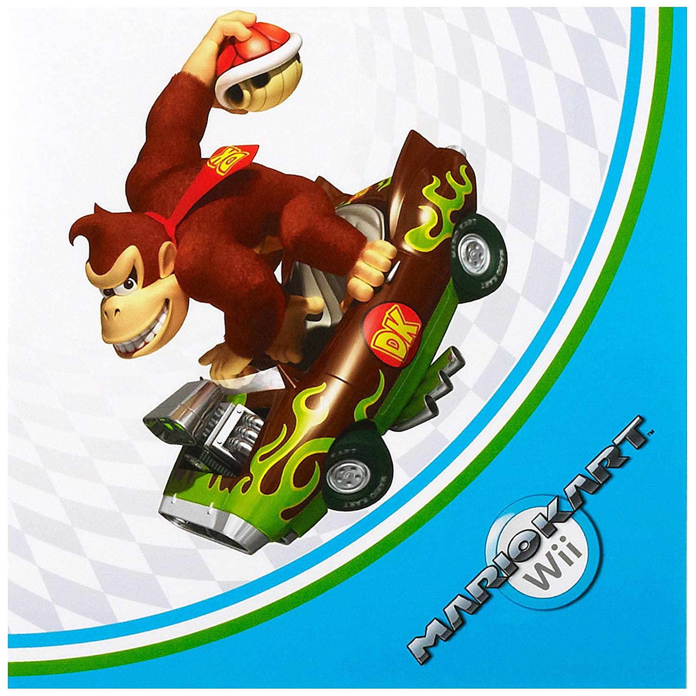 Mario Kart Wii Lunch Napkins (20) Party Destination BSEA10948