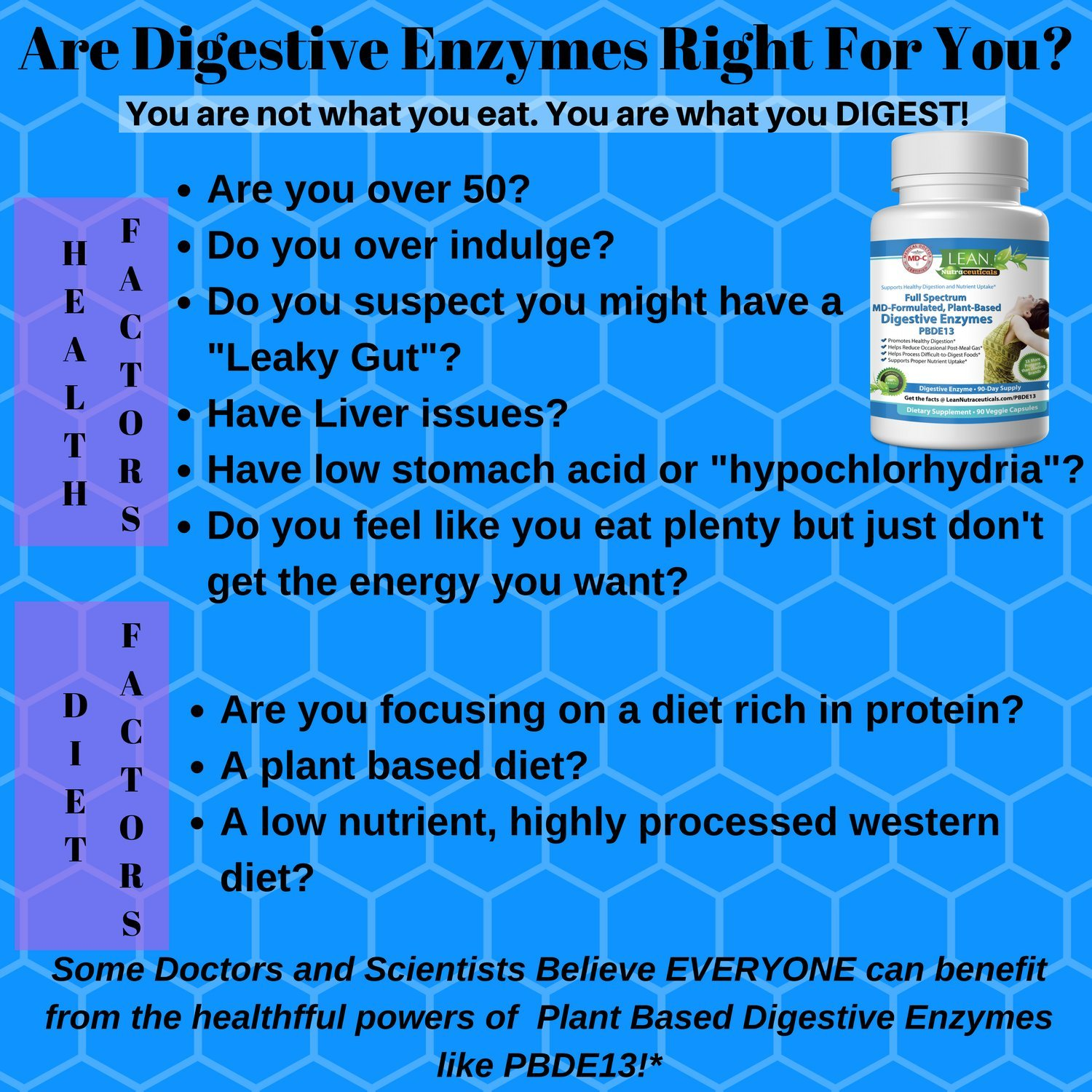 Amazon Md Certified Digestive Enzyme Supplements Plant Based