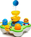 Best Baby Bath Toys - Bathtime Fun Toys and Pool Toys for Toddlers - Fountain Bathtub Toys - Tub Toys for Boys and Girls - Cool Water Toys with Sprinkler Set for Kids - 1 Year Old Toys