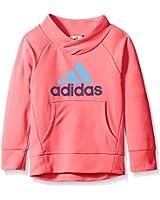 adidas Little Girls' Performance Pullover Sweatshirt