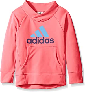 adidas Little Girls Performance Pullover Sweatshirt