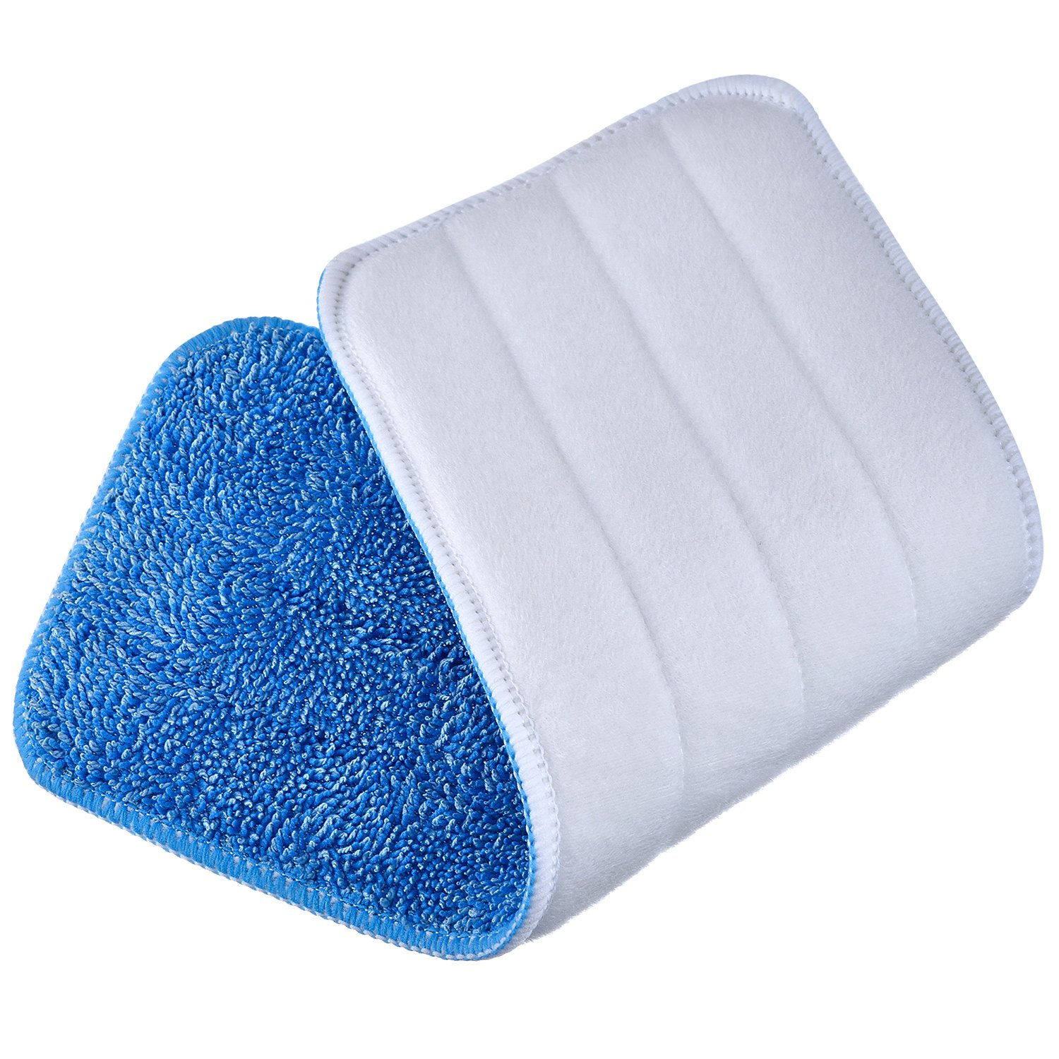 TecUnite 6 Pieces Microfiber Cleaning Pads Reveal Mop 16 to 18 inch Fit for Most Spray Mops and Reveal Mops Washable (16.5 x 5.5 inch) by TecUnite (Image #4)