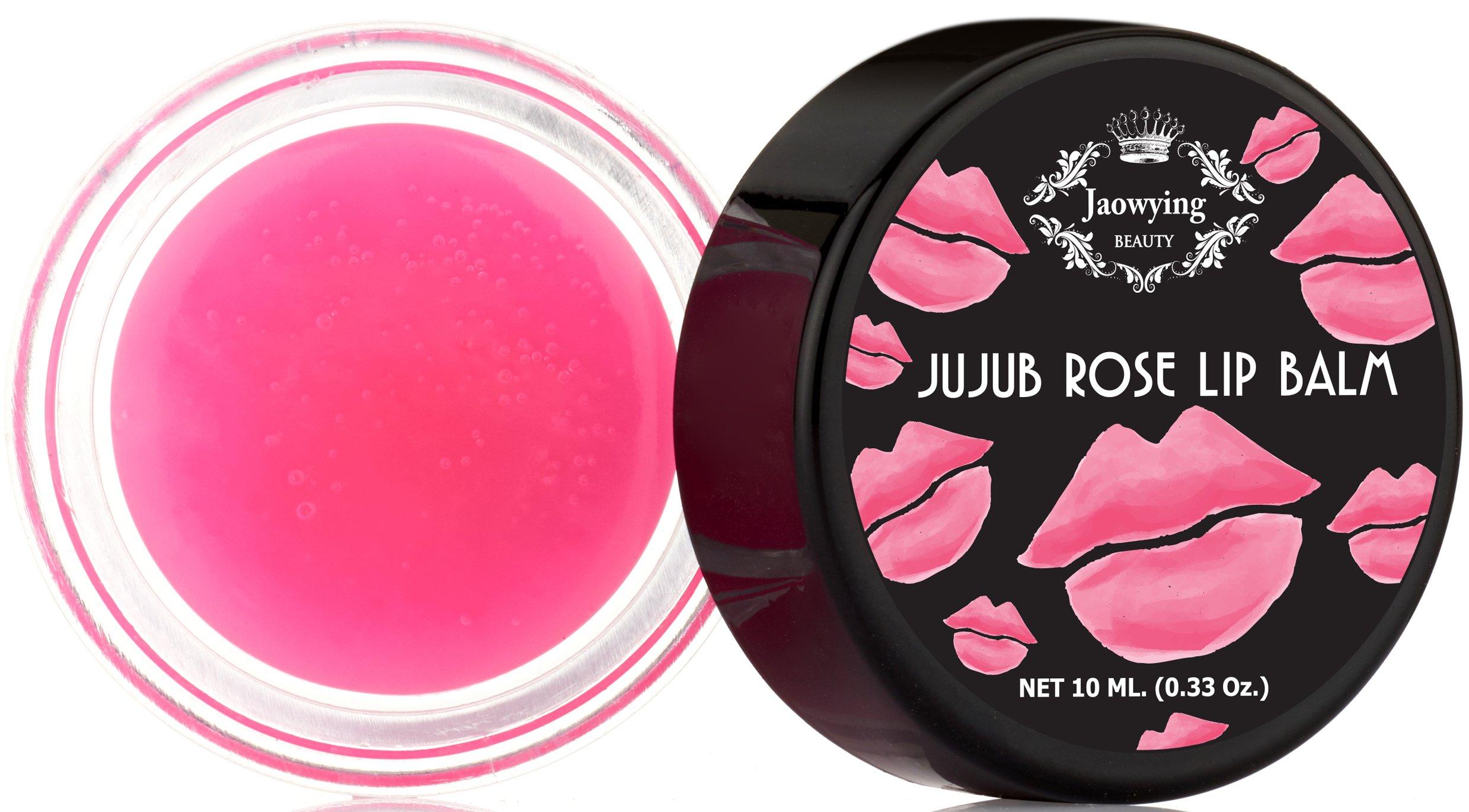 Amazon.com: Rose Lip Balm for Dark Lips - Rich shea butter, Softens ...