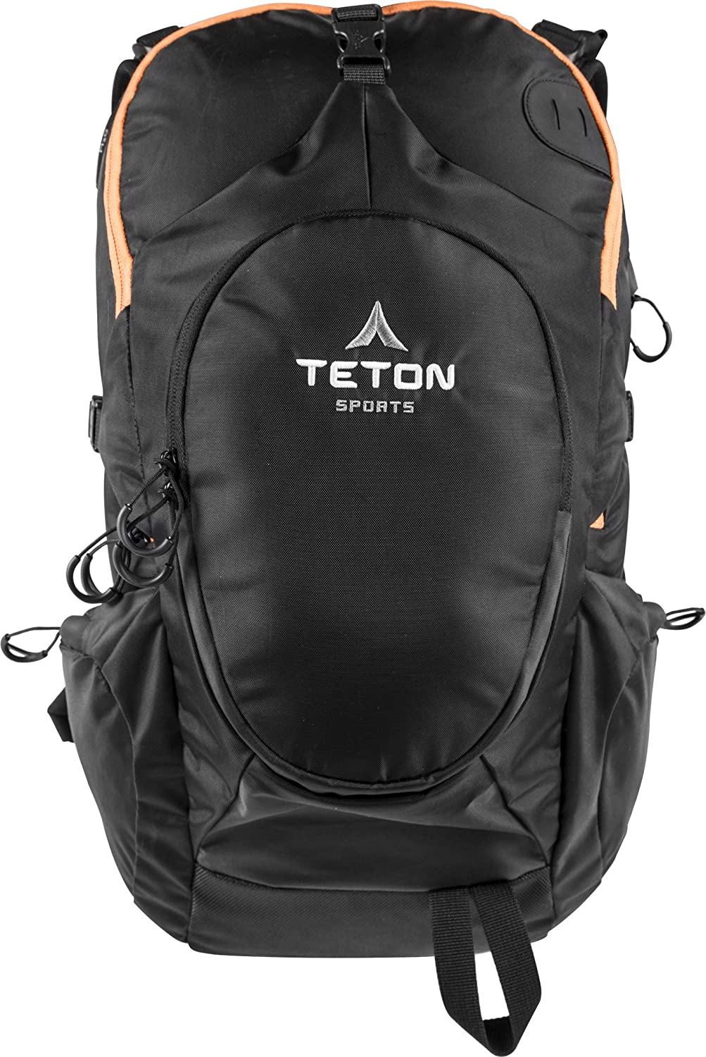 TETON Sports Rock 1800 Backpack; Lightweight Daypack; Hiking Backpack for Camping, Hunting, Travel, and Outdoor Sports; Sewn-in Rain Cover; Be Prepared for Those Unplanned Trips 1136