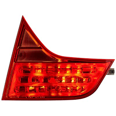 TYC 17-5245-01-1 Compatible with HONDA Civic Replacement Reflex Reflector: Automotive