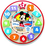 Amazon Price History for:Melissa & Doug Disney Mickey Mouse Wooden Shape Sorting Clock