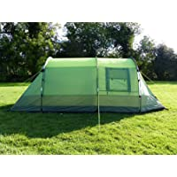 OLPro Lightweight Abberley Unisex Outdoor Tunnel Tent available in Green - 2 Persons
