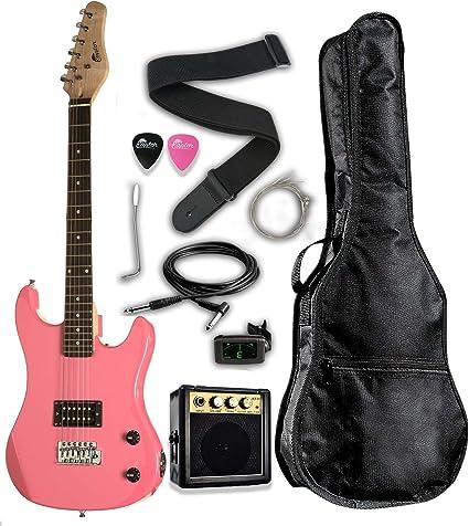 RAPTOR - Guitarra eléctrica para niños (escala 3/4, 91,4 cm, EP36 ...