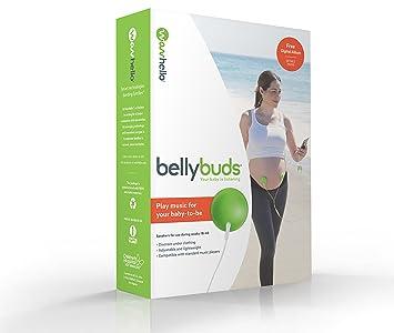 BellyBuds Escucha Bebes | Audífonos Abdominales del Embarazo para Estimulación Auditiva del Bebé Prenatal | Incluye