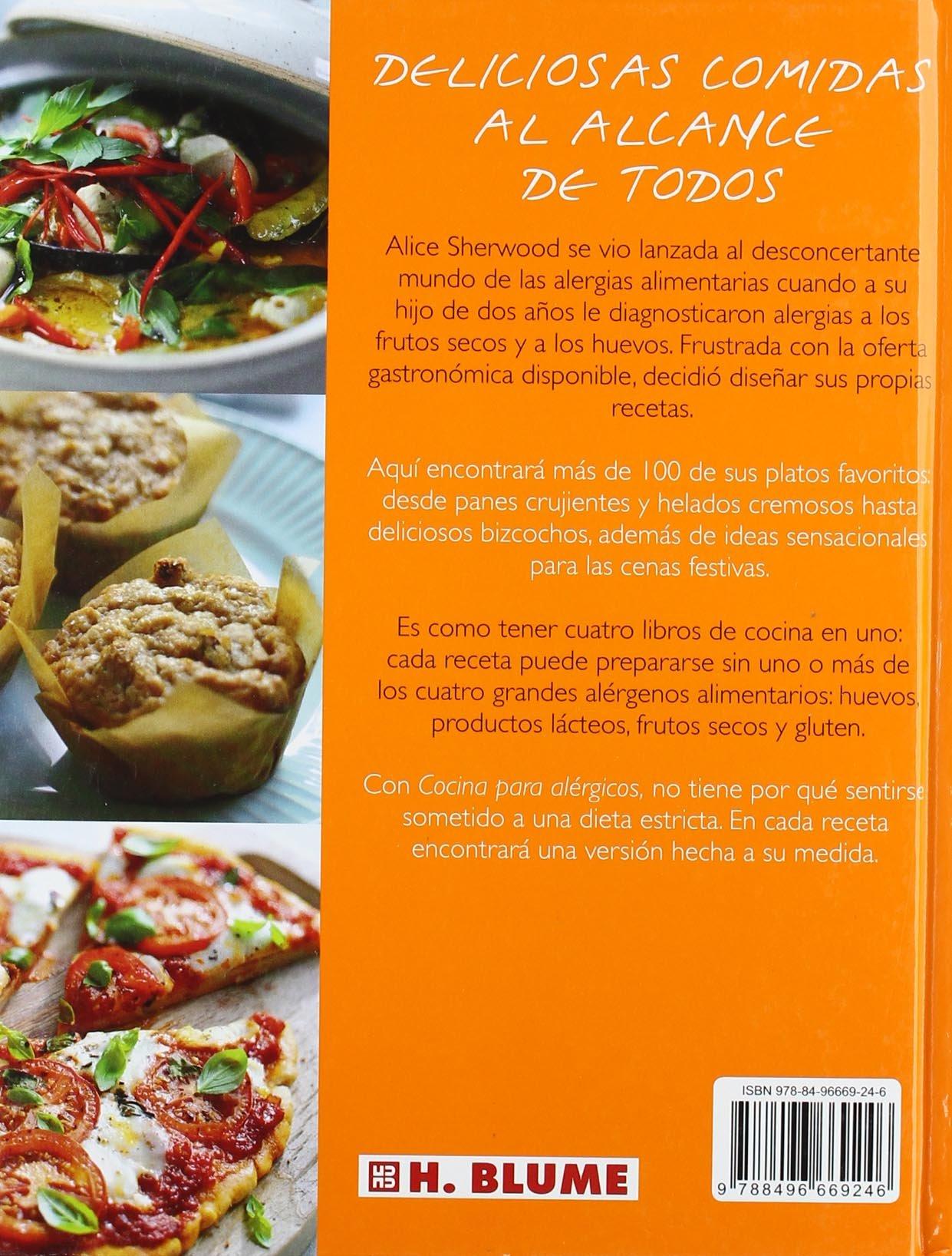 Cocina para alergicos (Sin Huevos / Sin lacteos / Sin gluten ...