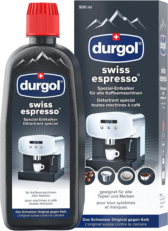 Durgol Swiss espresso - especial de-antical para máquinas de café de la máquina de -, 500 ml: Amazon.es: Salud y cuidado personal