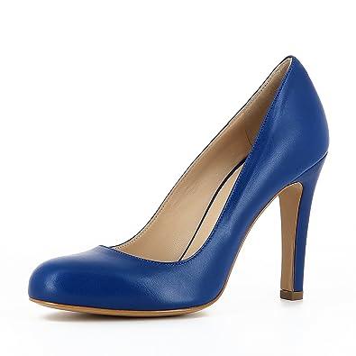 Evita Shoes Giulia Damen Sling Pumps Glattleder Fango 39 jDQNN808
