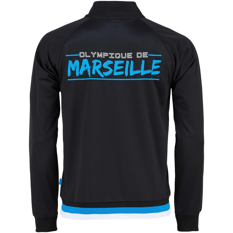 Olympique de Marseille - Sudadera con cremallera, talla de niño ...