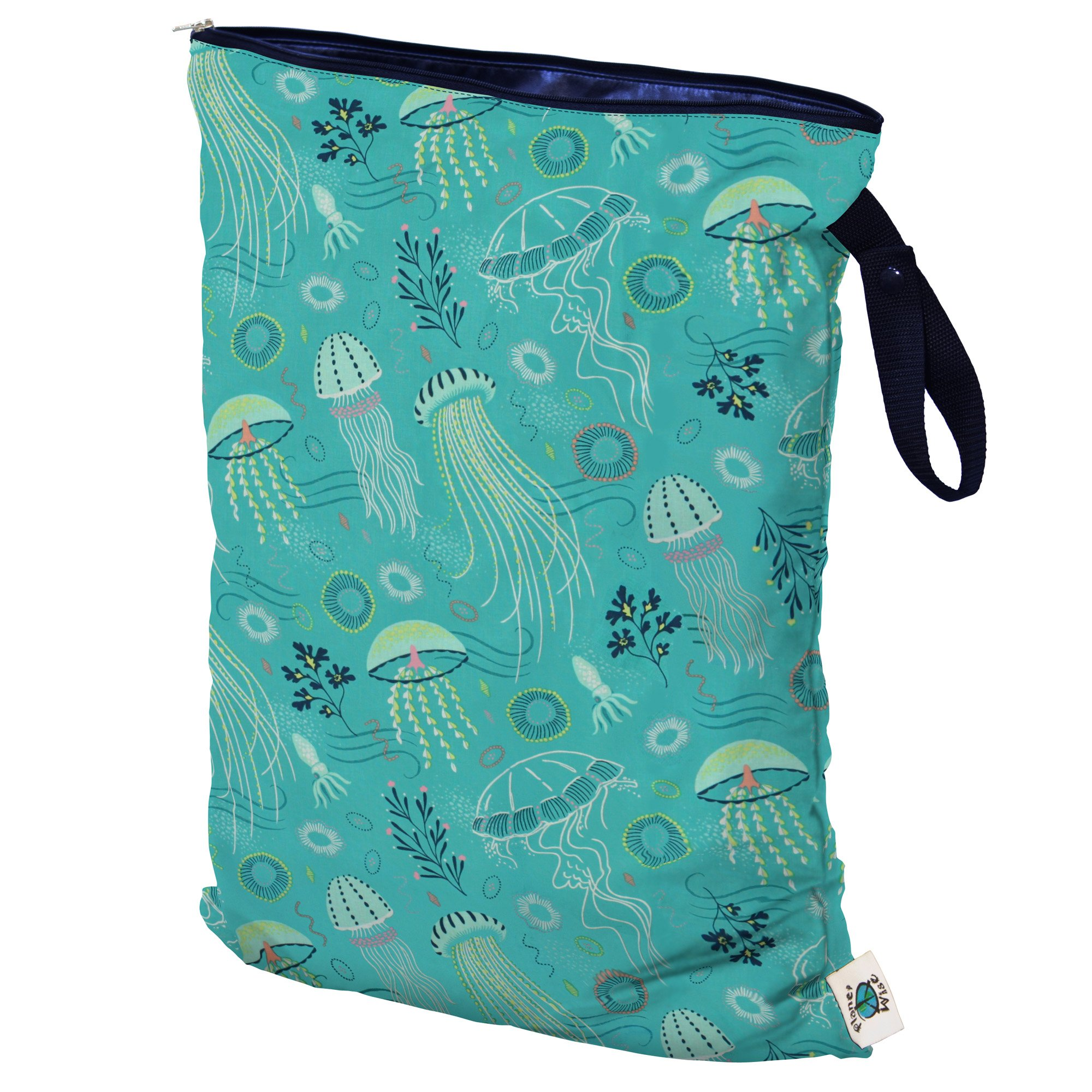 Planet Wise Wet Bag, Jelly Jubilee, Large, Made in the USA