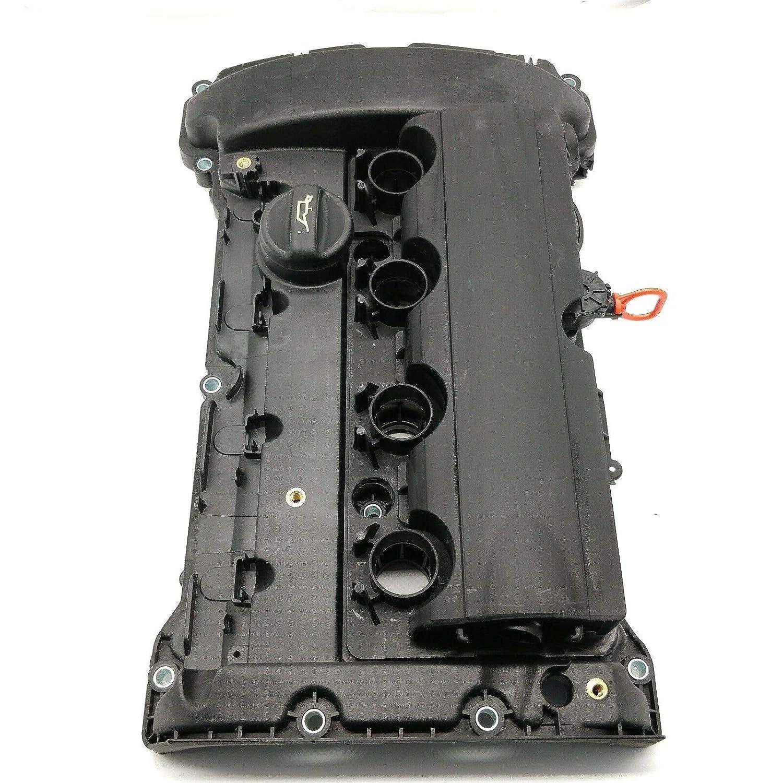 OKAY MOTOR Engine Valve Cover w//Gasket for 07-15 Mini Cooper S JCW R55 R56 R57 R58 Clubman John Cooper N14 1.6L Turbo