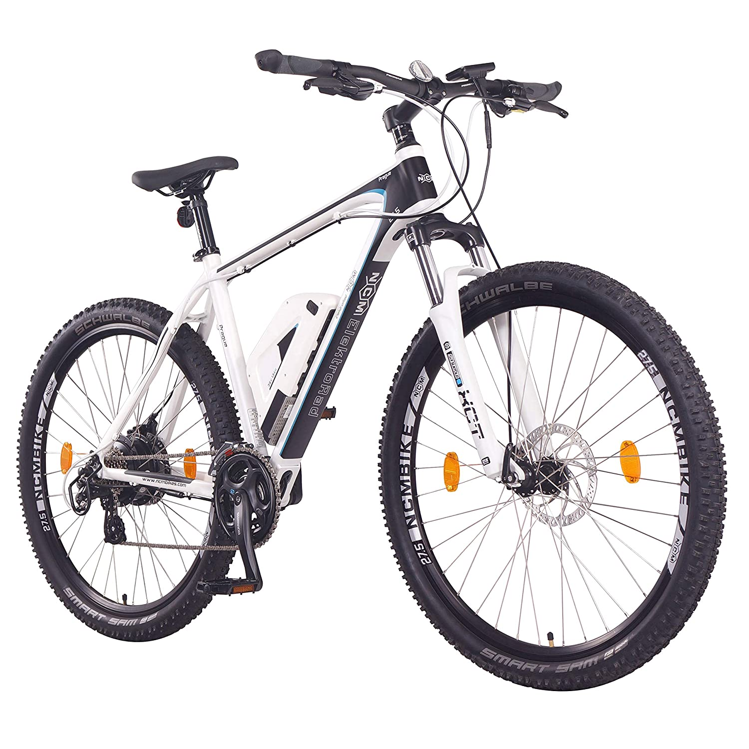 Ncm Prague E Bike Mountainbike 250w 36v 13ah 468wh Li Ion Akku 26