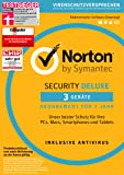 Symantec Norton Security Deluxe | 3 Geräte | PC/Mac/Smartphone/Tablet | Download