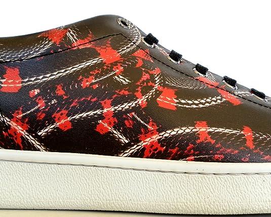 e97287ed3347a MARCELO BURLON Sneakers Scarpe Uomo Modello CMIA0148174050171099 Isabel  Stan Nero con Stampa  Amazon.it  Scarpe e borse