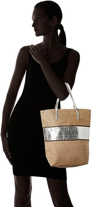 5 asa w H bolsos Cabas para Et 15 Cm Zapatos y mujer Amazon Plateado Or Molly L es Bolso X superior 5x43x45 Bracken con FYZc8qWgOT