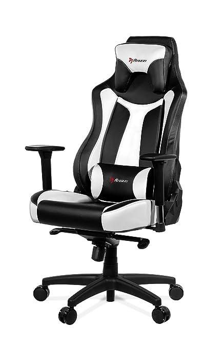 Astonishing Arozzi Vernazza Series Super Premium Gaming Racing Style Swivel Chair White Inzonedesignstudio Interior Chair Design Inzonedesignstudiocom