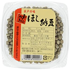 Japanese Sun-dried Fermented Beans - Hoshi Natto, 70g