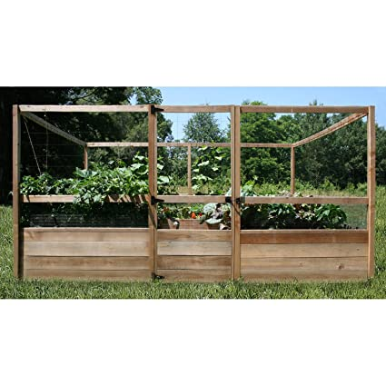 Amazoncom Gardens to Gro 8 x 12 ft DeerProof Vegetable Garden
