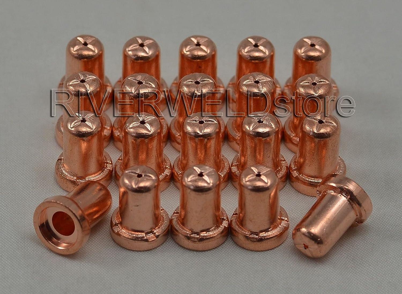 PT31 Plasma Electrode Tip Nozzle Extended Cutting Consumables Accessory Fit CUT-50D CUT50 CT-312 100pcs