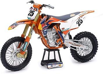 New Ray 1 10 Red Bull Ktm 450 Sx F Marvin Musquin Modellfahrrad Orange Weiß Schwarz Blau Rot Gelb 57963 Spielzeug