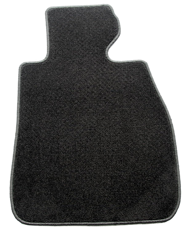 ZERO(ゼロ)フロアマット 日産 プレジデントショート H2/10~H14/8 G50 パステルシリーズ ブラック B008MHPI8W
