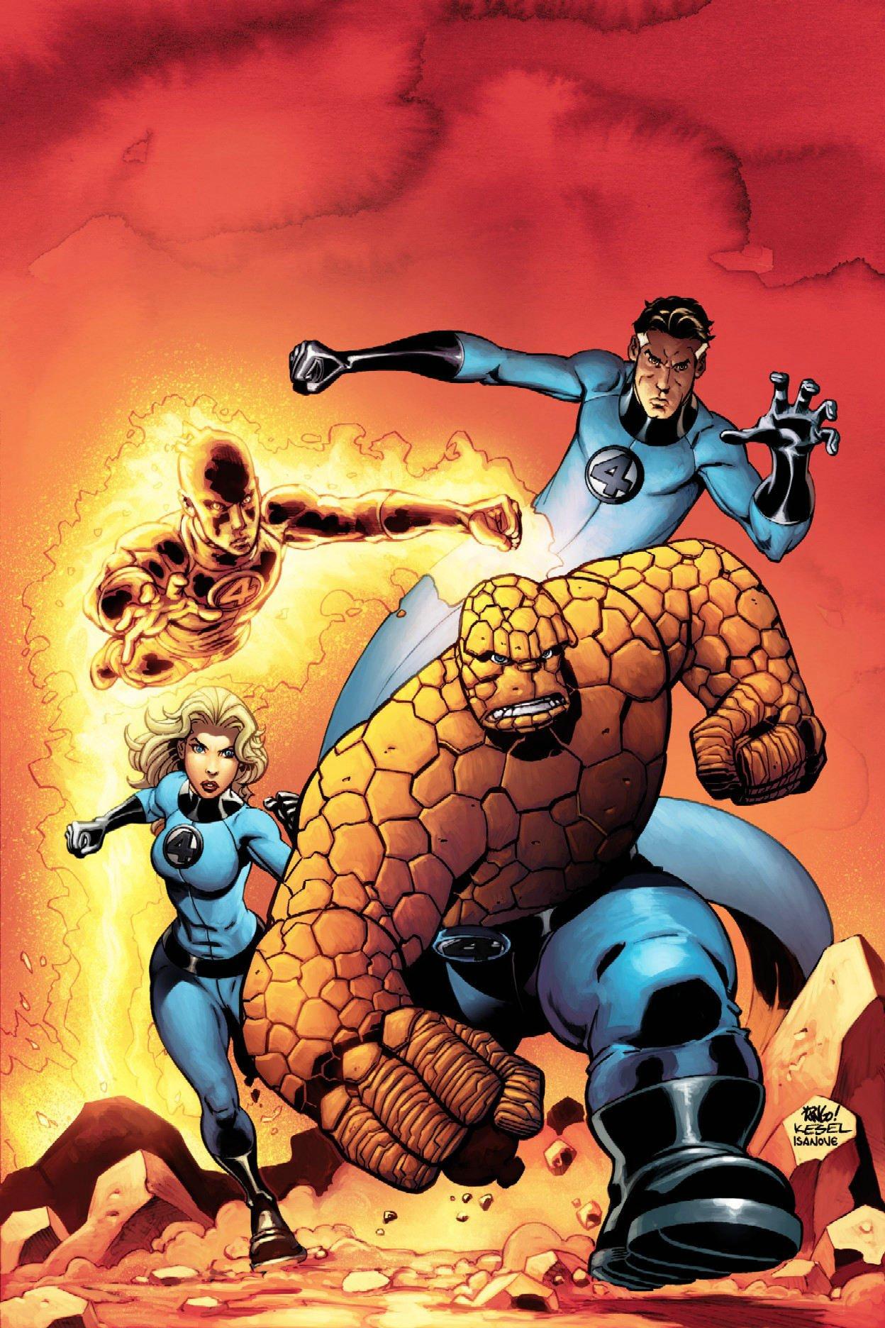 Amazon.com: Fantastic Four, Vol. 2 (9780785117759): Waid, Mark, Porter,  Howard, Wieringo, Mike: Books