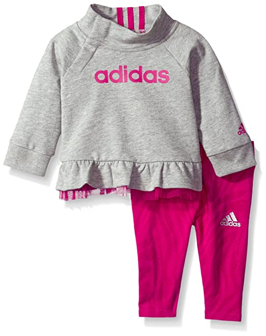1091893323e Adidas Baby Girls' Pull ME Over Tight Set,Grey,3 M: Amazon.ca ...